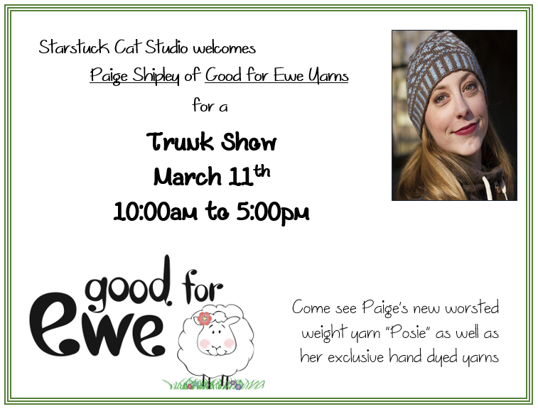 Good for Ewe Trunk show 2017